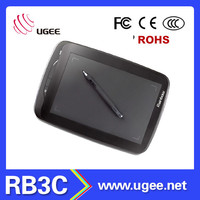 graphics tablet digitizer manufacture wholesale Ugee RB3C 9x6 inch USB interface drawing tablet pc
