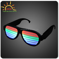 promotion gift led sunglasses, halloween led sunglasses, music sound activated led sunglasses,