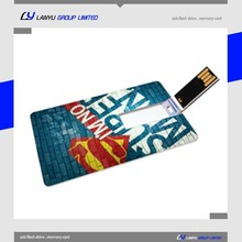 best selling new high quality 2 sides custom usb business card 4gb