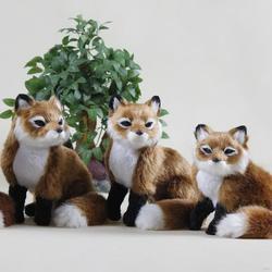 Durable hot-sale handmade crochet fox toys