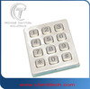 vandal access control keypad for telephone entry system