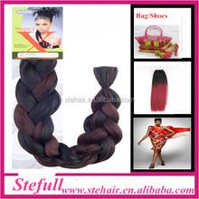 Stefull hair new arrive japanese fiber super x braid hair