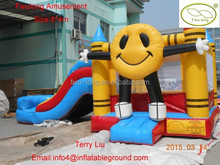 8m*4m inflatable bouncer slide combo for sale