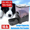 factory price LCD displayer large automatic dog food feeder