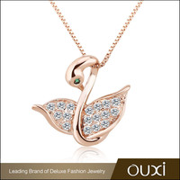 OUXI TOP selling dubai gold plated fashion designs artificial necklace jewellery