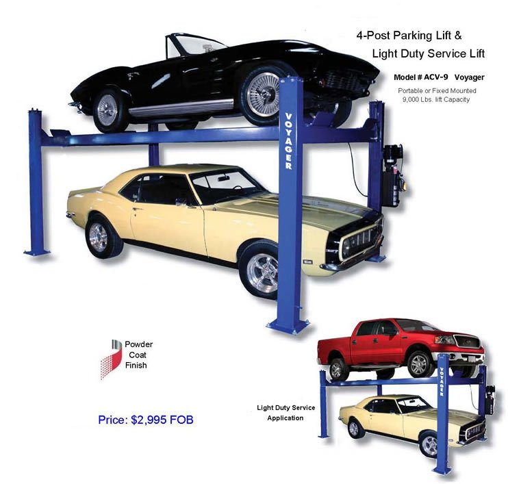4 Post Auto Lift : Quot voyager post auto lift buy product on