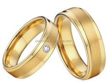 wholesale price 2015 lastest 316L surgical stainless steel wedding rings sets