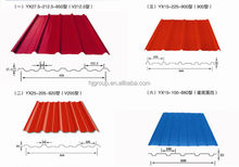 cheap price excellent building material color coated corrugated steel plate