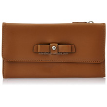 Leisure Design Tan Synthetic Material Ladies Brand Wallet