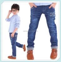 comfortable top sale cotton children wear kids boys jeans,denim elastane wholesale jeans