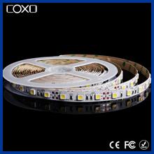 CX-5050W-60 SMD 5050 White Light LED Strip 2500K-9000K Optional