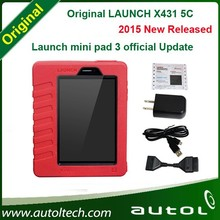 2015 Global Version 100% Original Launch X431 5C Euqal to Launch X431 V 5 Update By Launch Website X-431 5C Bluetooth/Wifi
