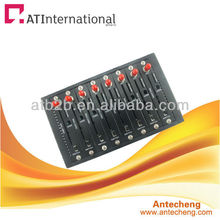 8 ports USB /RS232 GSM GPRS sms modem 8 port gsm/gprs modem pool
