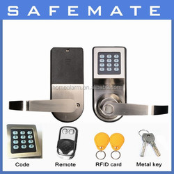 Stainless steel Garage door security lock Digital Electric Lock for Hotel/ room/ Sliding Door