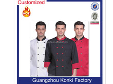 Different design fast food restaurant uniform for men wear