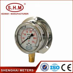 bourdon tube capillary pressure gauge