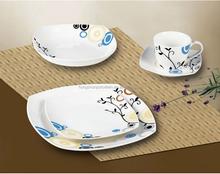 Hot sale royal fine bone china new design modern dinner set