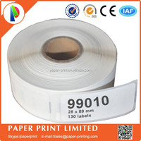 supermarket shelf label 89mm*28mm compatible thermal dymo LW-99010 printer ribbon