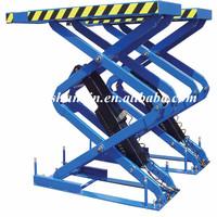 Qingdao car lifting device /automotive scissor lift/ever eternal car lift with CE