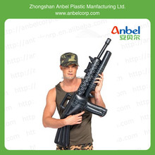Anble Inflatable Machine Gun Prop Gangster Army Military Costume Accessories