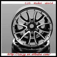 """Wholesale 2014 Best Seller Dick Cepek Gun Metal 7 1.9"""" Internal Beadlock Wheels 12mm Hex and Scale HUBS"""