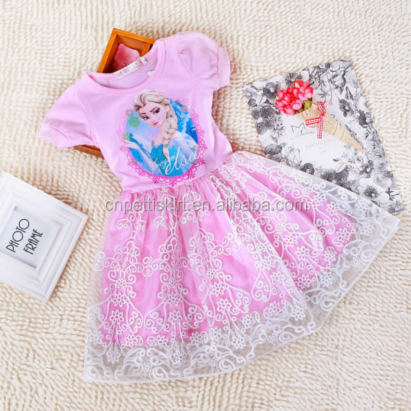 ... 31 9 & 2015 Newest Fashion Girls Frozen Dress Frozen Elsa Anna Costume ...