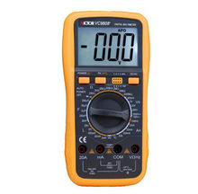 F04969 VICTOR VC9808+ 3 1/2 Large LCD Digital Multimeter Temperature Inductance Frequency Ohm Voltmeter Meter + Free shipping