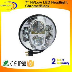 Opplight universal projector headlight harley 7' projector headlight 5000 lumens projector