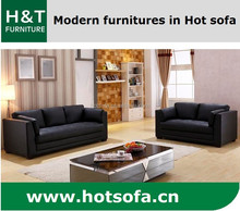 French Style Living Room Furniture, Meeting Room Sofa Set, Hot Selling Leather Sofa H209