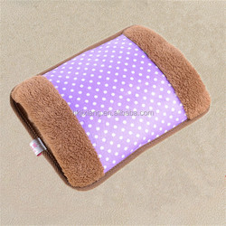 soft plush cover warm winter electric hot water bag price