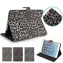 Leopard Pattern standing case for ipad mini, for ipad accessories