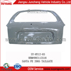 Tail gate used on HYUNDAI SANTA FE auto metal parts replacement