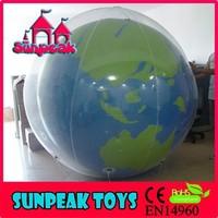 BL-419 Sunpeak Park Advertising Fashion Inflatable Shaped Helium Planet Balloon