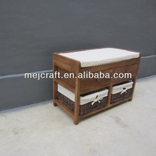 Very cheap sectional wood footstool sofa