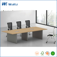 Waltz hot sale malamine board rectangle office ikea meeting table