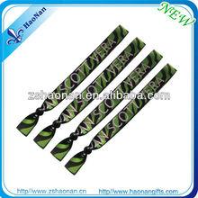 Custom polyester woven hand event handicraft wristband