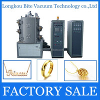 watch strap inox ion arc magnetron sputtering machine/small pvd coating machine/Ion plating machine
