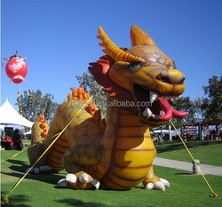 Chinese cartoon dragon,giant inflatable dragon for advertising