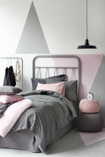 comforter printed and embroidery designer bedding simple