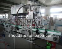 Silverware cleaning detergent bottling machine