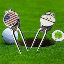 Golf divot tools / magnetic divot tools ball markers / magnetic repair tools / repair fork