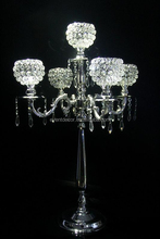 Gümüş şamdan 5 adet mumluk, düğün şamdan masa dekorasyonu