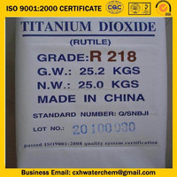 factory price high quality titanium dioxide Rutile