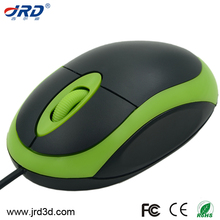 cheap computer accessory red led light mini color mouse with logo