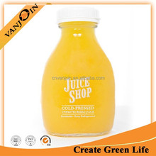 16oz Fresh Juice Glass Bottle Screwing Top