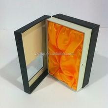 Eco custom wax manufacturing corrugated packaging box