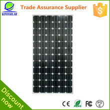 220W high quality solar panel for big power systems