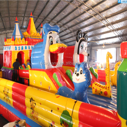 2015 best selling giant playground fun city games party inflatable