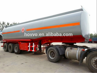 China Vehicle Supplier 3-axle 40000L Fuel Tanker / Oil Diesel Transport Truck Semi Tank Trailer For Sale