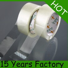 clear or transparent adhesive tape /packaging tape silicone coated release paper